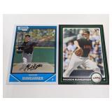 (2) Madison Bumgarner RC Baseball Rookie Cards