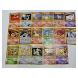(17) Pokemon Foreign Gym Cards