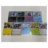 (9) Pokemon Holo Foreign Cards