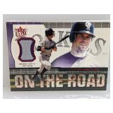 2001 Fleer Ultra On The Road todd Helton Relic