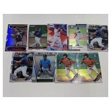 (9) Rosario/Devers/Tebow/Bart/Mesa Jr. RC Cards