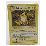2016 Pokemon Raichu Holo Rare 36/108