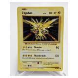 2016 Pokemon Zapdos Holo Rare 42/108