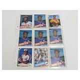 (18) Vintage Baseball Rookie Cards