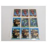 (17) Vintage Baseball Rookie Cards