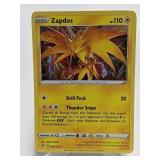 2020 Pokemon Zapdos Holo Rare 48/185
