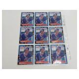 (12) Mark Grace Baseball Rookie Cards
