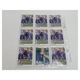 (9) Larry Walker Baseball Rookie Cards