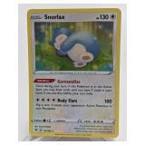 2020 Pokemon Snorlax Holo Rare 131/185