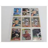 (18) Baseball Rookie Cards