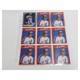 (18) Larry Walker Baseball Rookie Cards