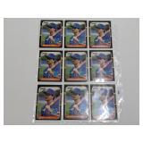 (15) Rafael Palmeiro Baseball Rookie Cards
