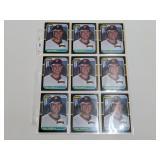 (15) Will Clark Baseball Rookie Cards