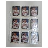 (18) Mike Mussina Baseball Rookie Cards