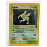1999-2000 Pokemon Scyther Base Set 2 Rare 17/130
