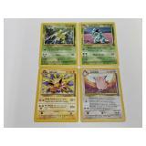 (4) Pokemon Jungle Rare Cards