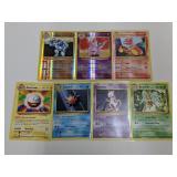 (7) Pokemon Rare W/ Holo Cards