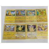 (8) Pokemon Pikachu Cards W/ Holo