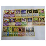 (24) Pokemon Team Rocket Cards