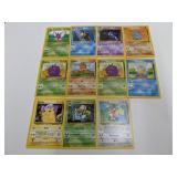 (11) Pokemon Base Set 2 Cards