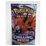 Pokemon Sword & Shield Chilling Reign Card Pack