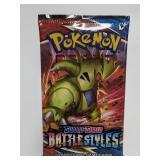 Pokemon Sword & Shield Battle Styles Card Pack