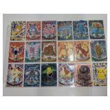 (18) 1998 Topps Pokemon Cards