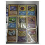 Binder Of Pokemon Cards W/ Rares & 1st Ed.