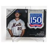 2019 Topps Pete Alonso Comm. Patch RC #AMP-PA