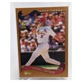 2002 Topps All Star Rookie Cup Albert Pujols #160