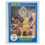 "1985 NBA Court Kings #36 Adrian Dantley 5""x7"""