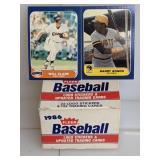 1986 Fleer Baseball Cards Update Set