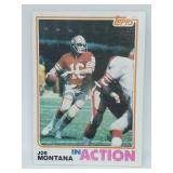 "1982 Topps Joe Montana ""In Action"" #489"