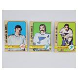 1972-73 Topps Hockey 3 Plager Brothers