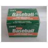 1987 Fleer Update Baseball Cards Set