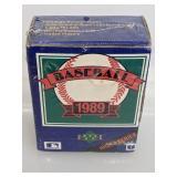 1989 Upper Deck High Series Baseball Cards Set