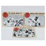 1967 Topps World Series Cards (3)