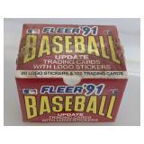 1991 Fleer Update Baseball Cards Set