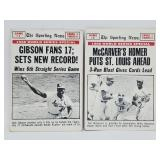 1968 Topps World Series Cards (2)