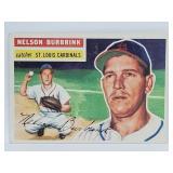 1956 Topps #27 Nelson Burbrink