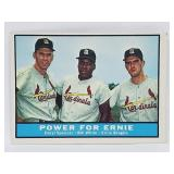"""1961 Topps #451 """"Power For Ernie"""""""