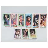 1980 Topps Basketball Group of 3
