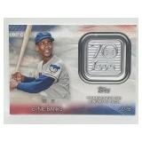 2021 Topps 70th Patch Ernie Banks