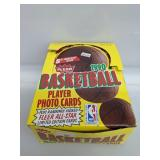 1990-91 Fleer Basketball Wax Box