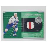 76/99 2020 UD A Piece of History Brett Hull Relic