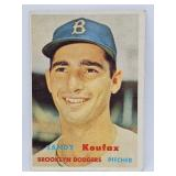 1957 Topps #302 - Sandy Koufax