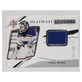 61/299 2018 Ultimate Rookies Ville Husso Relic RC