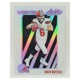 2018 Absolute Football Baker Mayfield RC #IN-BM