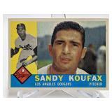 1960 Topps Sandy Koufax  #343