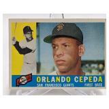 1960 Topps Orlando Cepeda #450
